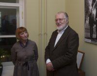 Юозаc Будрайтис представил в Доме журналиста фотовыставку «Мое кино»…