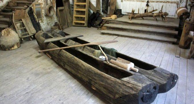 Традиционные лодки Белозерского края