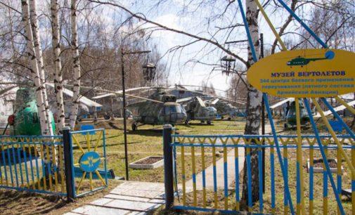 Музей военных вертолетов в Торжке