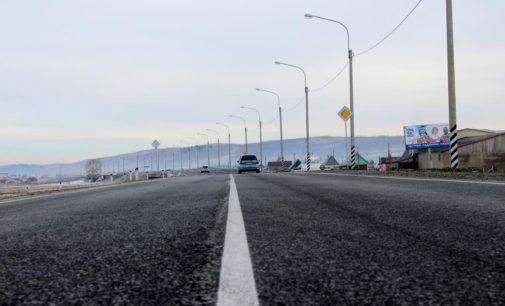 В Забайкалье участок трассы А-350 в черте Агинского стал ещё безопаснее