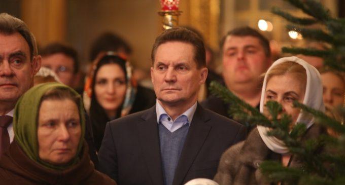 Виктор Кувайцев поздравил православных христиан с Рождеством