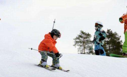 Финская Коувола. Катание на горных лыжах почти в центре города!