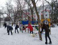 Журналисты поддержали «Снежный субботник»