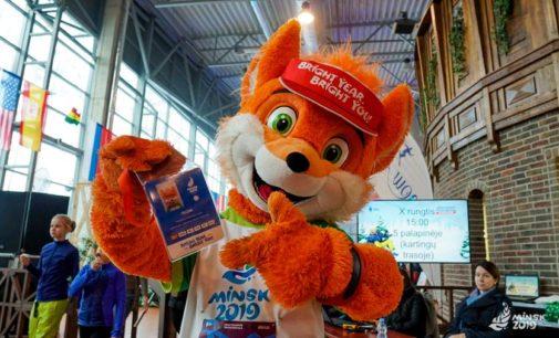 Лесик — чемпион! Рыжий талисман II Европейских игр победил соперников на зимнем фестивале в Литве…