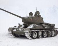 В Твери в парке Победы установят танк Т-34