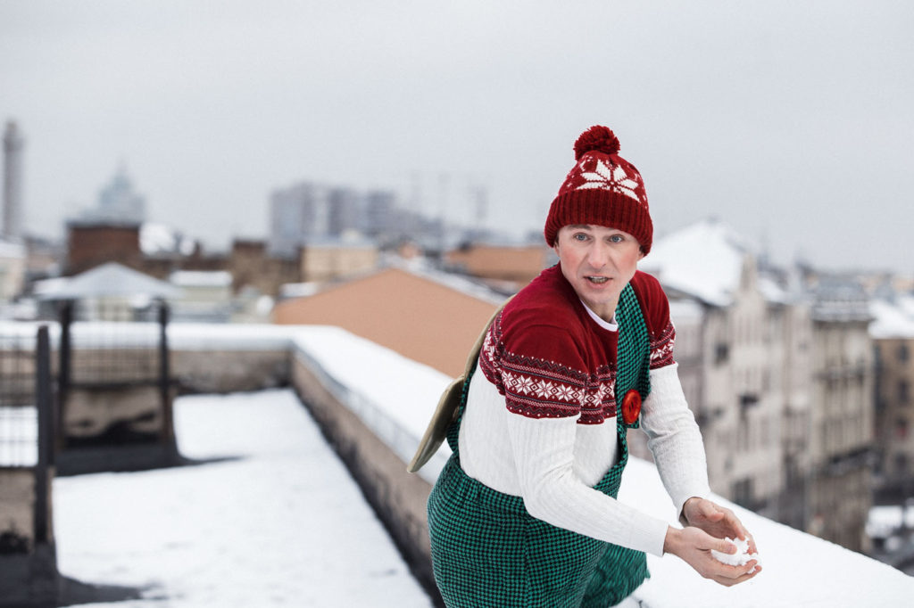 Алексей Ягудин Карлсон, автор Андрей Сухинин