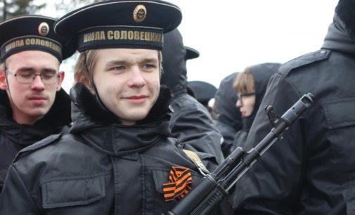 Первая репетиция парада Победы состоялась в Архангельске