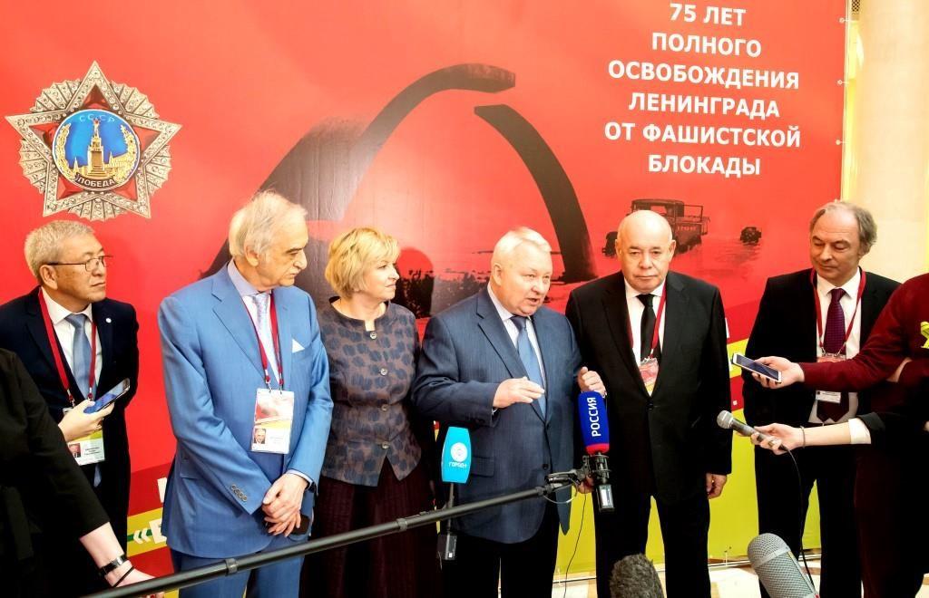 Международный форум Победителей - в Президентской библиотеке 1