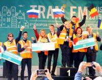 Водители Мосгортранса — вице-чемпионы Европы