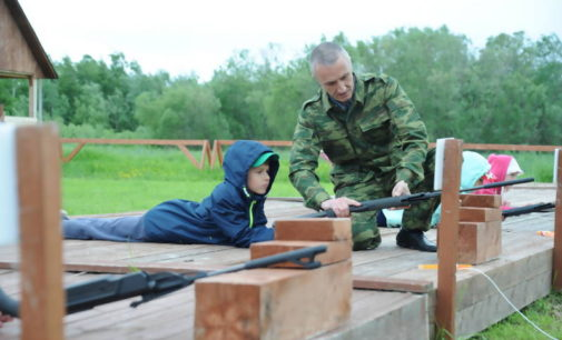 «Честь имею»: в Архангельске открыли смену в оборонно-спортивном лагере
