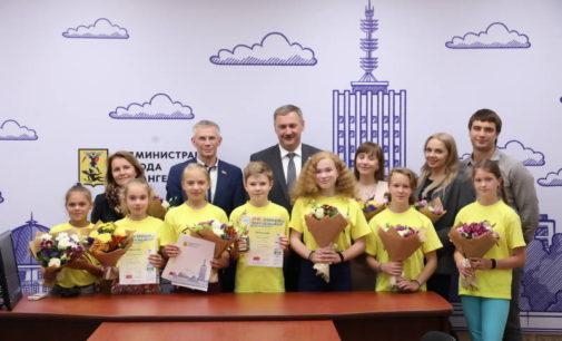 «Зер гут»: архангельских школьников наградили за успешное выступление в немецком городе-побратиме Эмдене