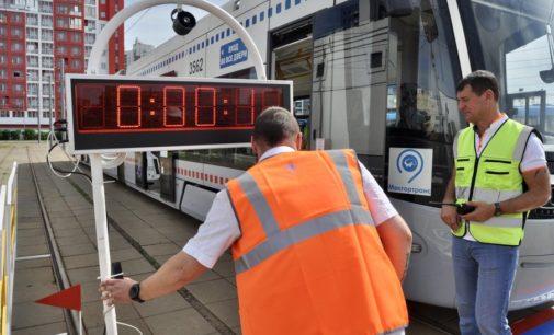 Лучший водитель трамвая Москвы работает в Краснопресненском депо