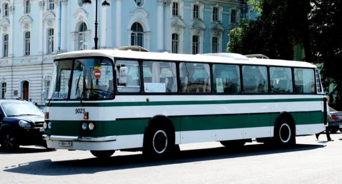 Журналисты и организаторы проекта «Ленинградский автобус» вернулись в прошлое