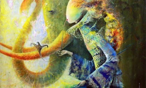 Для петербуржцев откроется выставка «Подиум души» современной художницы Тины Водорослевой
