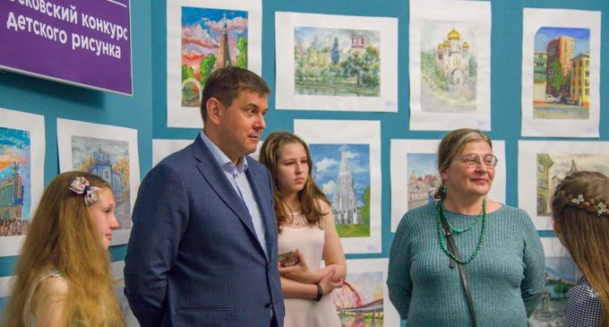 «Наследие моего района»: в Москве завершился конкурс детского рисунка