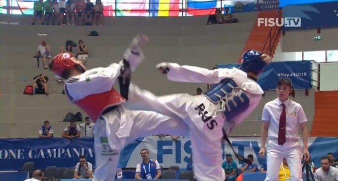 Юлия Турутина из Сызрани завоевала серебро Всемирной универсиады по тхэквондо