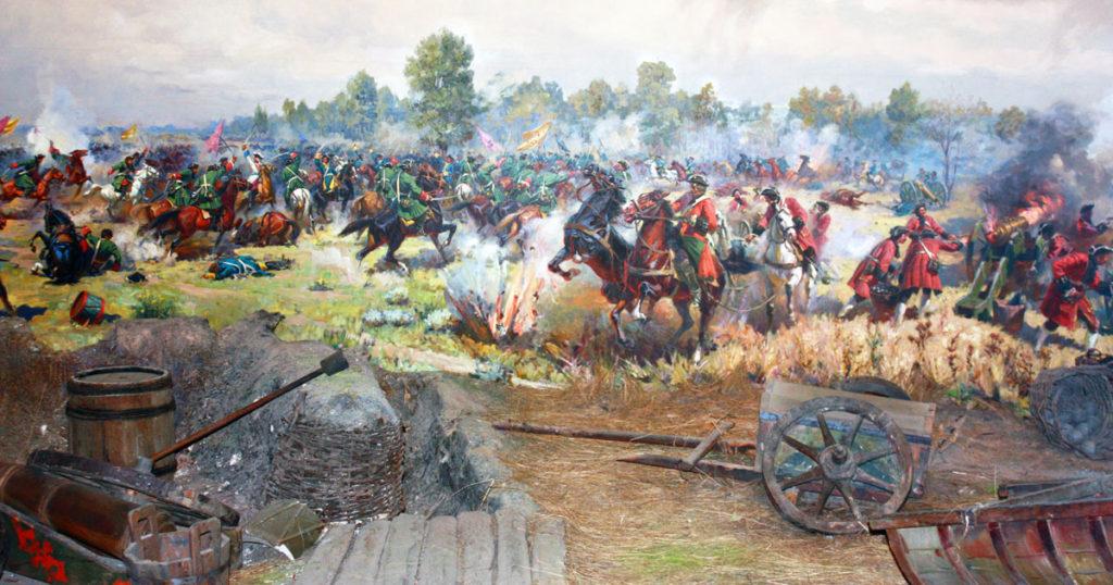 Полтавская-битва