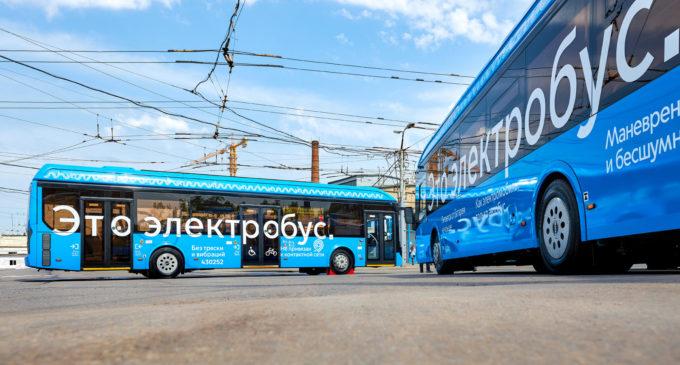 Электробусы вышли на автобусный маршрут на западе Москвы