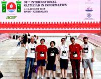 Выпускник лицея № 239 завоевал золото Международной олимпиады по информатике