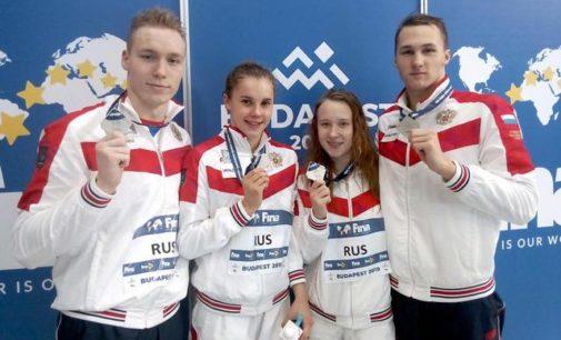 Сыктывкарец Николай Зуев завоевал три медали на Первенстве мира по плаванию