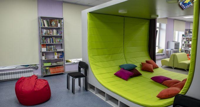Мурманск читающий. Современная библиотека открылась в Первомайском округе…