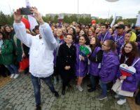 В Сургуте прошёл парад российского студенчества