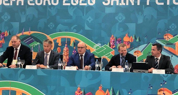 Делегация УЕФА прибыла в Северную столицу с инспекционным визитом