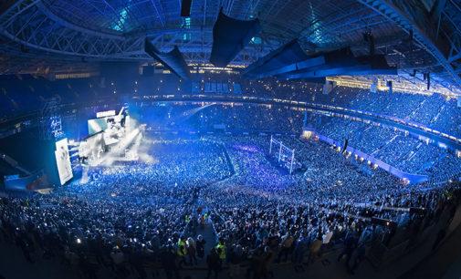 Более 67 тысяч человек посетили финальный концерт группировки «Ленинград»