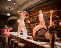 Пластический спектакль «Гоголь. Сломанное шоу» пройдет в музыкальном сопровождении контрабасиста-виртуоза Владимира Волкова
