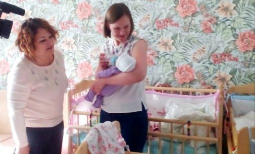 Семье Коноваловых, в которой родилась тройня, оказана помощь в рамках программы «Забота»