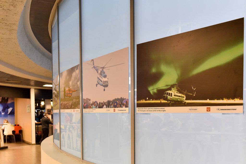 Фотографии представляют особенности работы авиаторов Коми