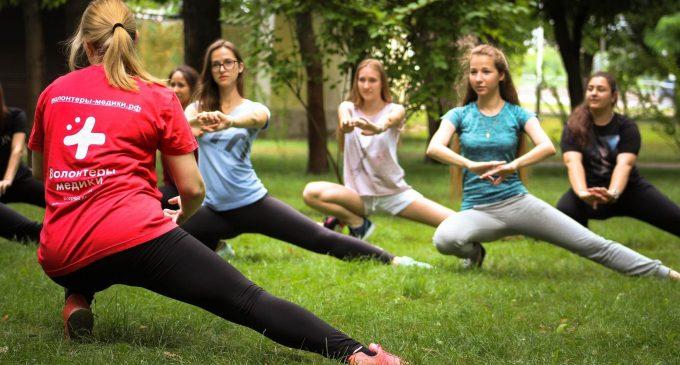 Волонтеры приглашают всех россиян на марафон здорового образа жизни