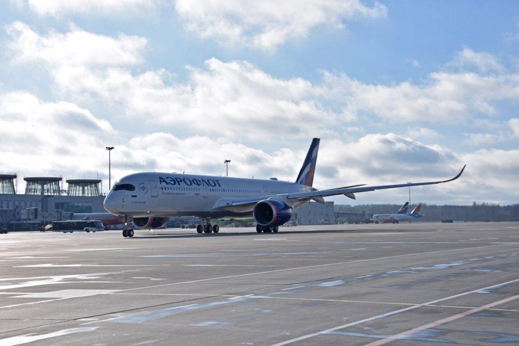 А350 Аэфролота стал 1-м самолетом данного типа в парке воздушных судов а...