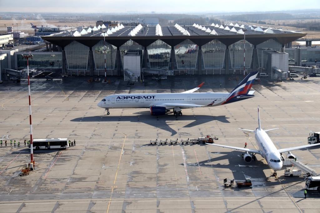 А350 Аэрофлота рассчитан на 316 пассажиров. Автор фото М. Лысцева