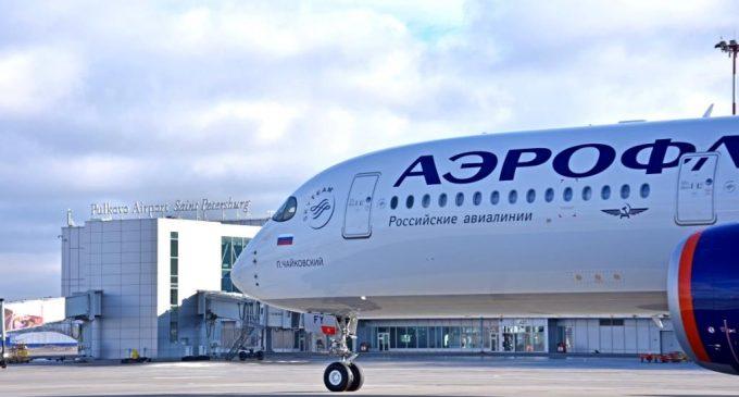 Пулково принял первый рейс авиакомпании «Аэрофлот» на Airbus A350