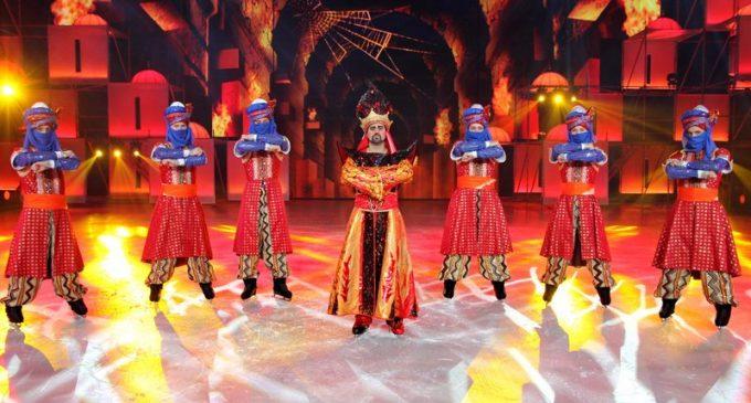 Ледовое шоу «Аладдин и Повелитель огня» состоится в ДС «Юбилейный»