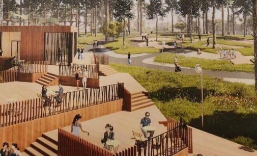 НАЦПРОЕКТЫ: новая жизнь Заречного парка в Луге…