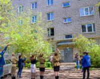 В Смоленске «Фронтовые бригады» поздравили ветеранов Великой Отечественной войны с Днем Победы