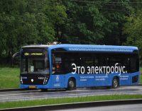 Электробусы вышли на маршрут № т34 на западе Москвы