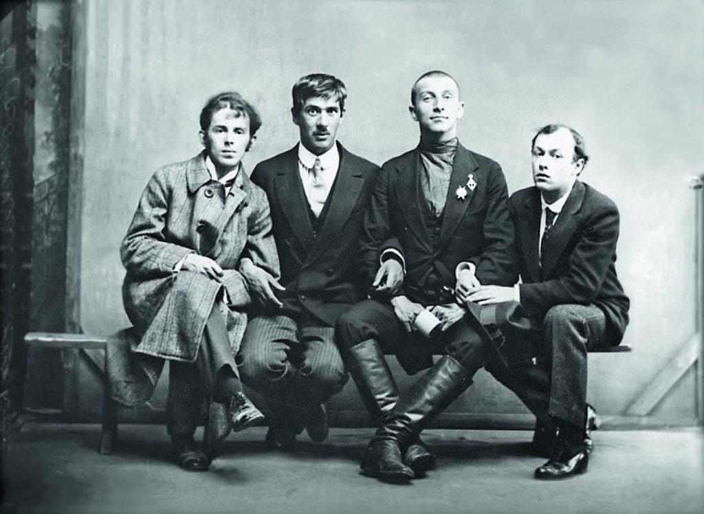 __100_Чуковский, Анненков, Мандельштам, Лившиц