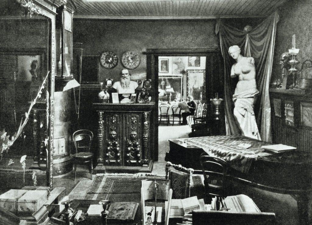 Художник Илья Репин в своём имении Куоккала. 1908. Карл Булла
