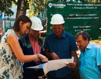 Фонд «Находка» строит масштабную спортивную площадку на улице Макарова