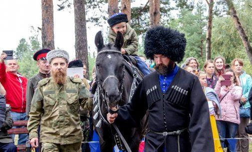 В Санкт-Петербурге прошел казачий праздник «Посажение на коня»