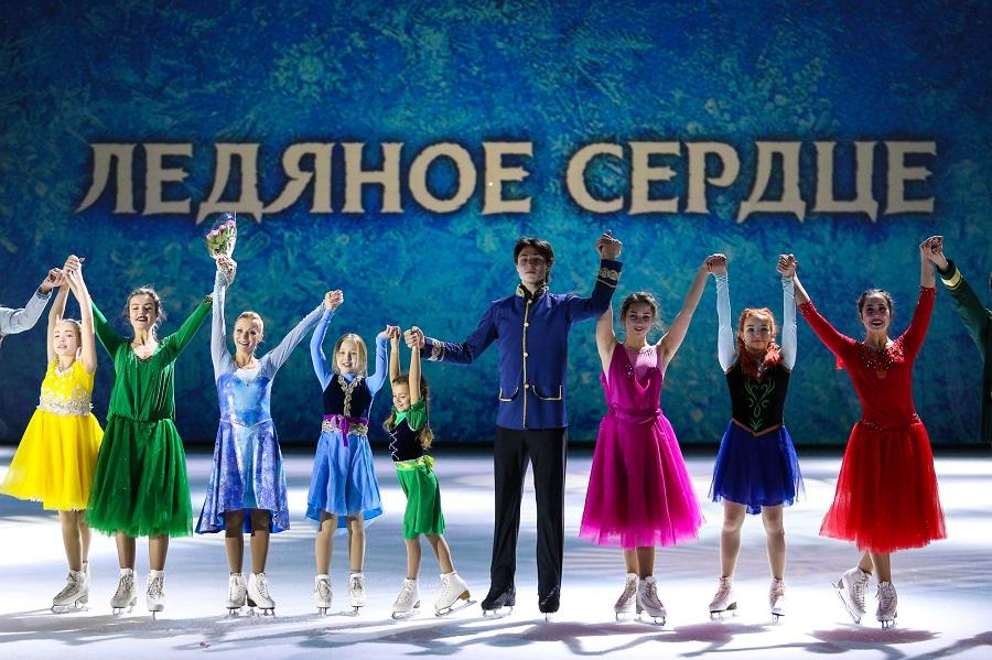Шоу Ледяное Сердце, Детский ледовый театр, фото Мария Катешова-1