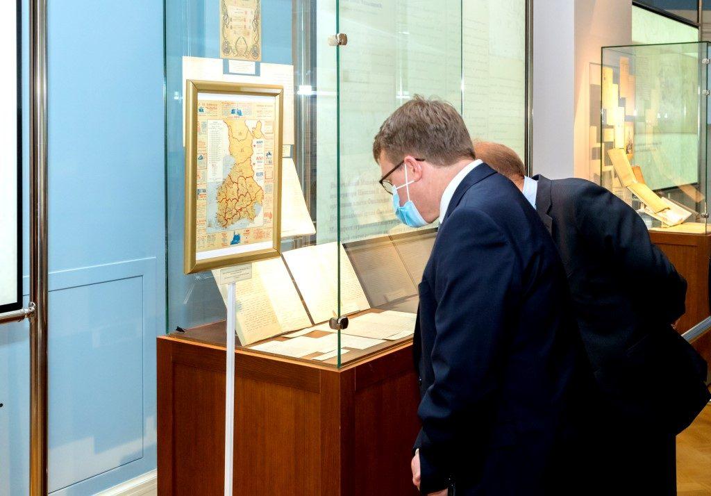 Выставка «Россия – Финляндия к 100-летию установления дипломатических связей» в Президентской библиотеке2