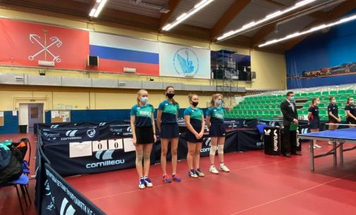 Настольный теннис: ленинградские спортсменки взяли «золото» и «бронзу» чемпионата
