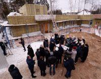 Лечебница для животных строится в Сосновом Бору