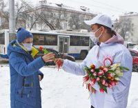 В Уфе прошла акция «Вам, любимые» в честь Международного женского дня