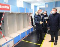 На стадионе «Спартак» в Зеленогорске заканчивается подготовка к Чемпионату Европы по футболу
