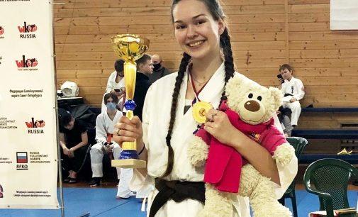 Студентка Герценовского университета стала лучшей на чемпионате Санкт-Петербурга по каратэ шинкиокусинкай